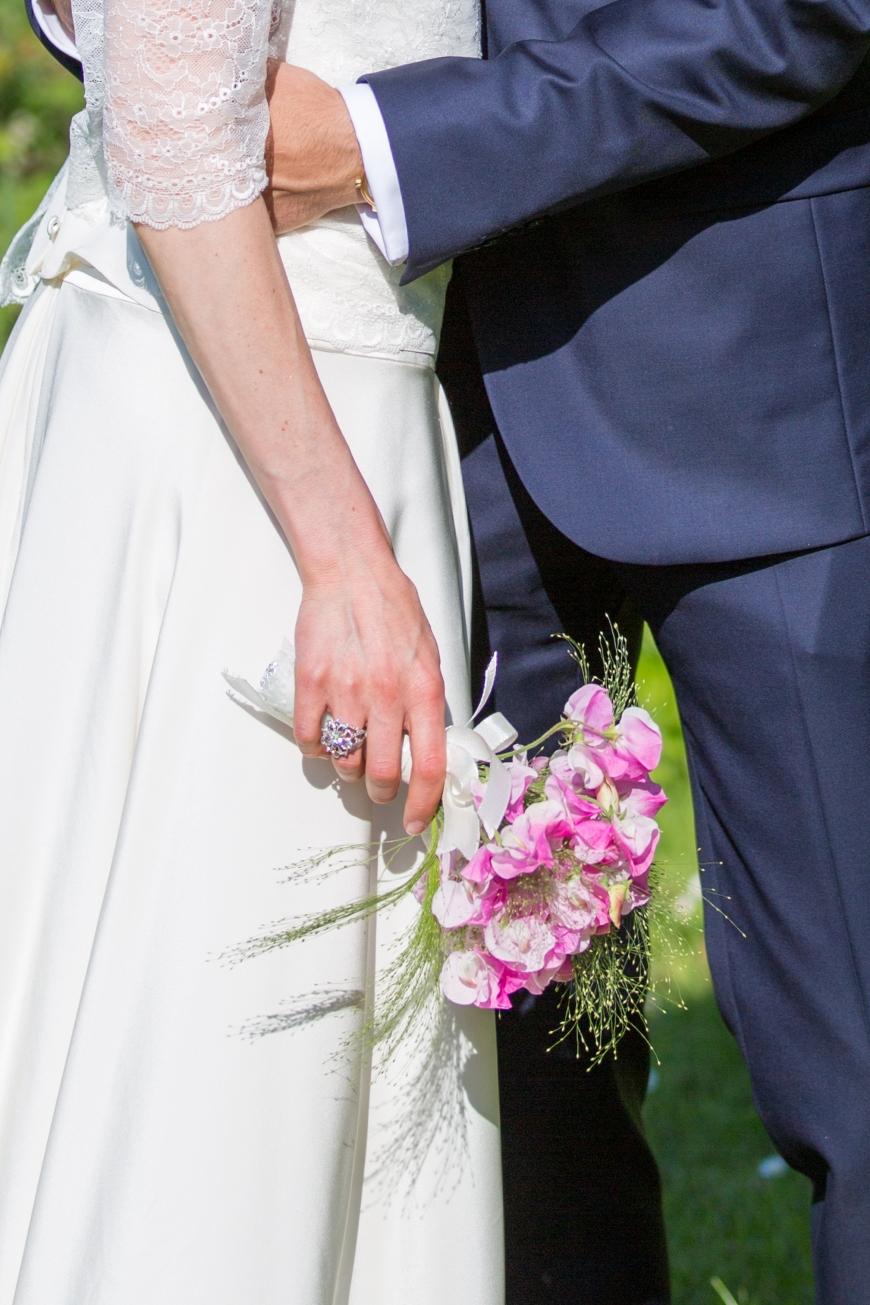 Les mariés, Bague créée par Anne-Cécile Blavignac